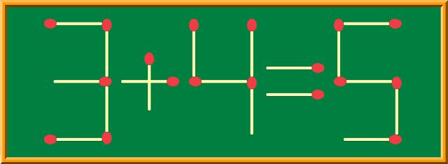 マッチ棒計算式【初級】