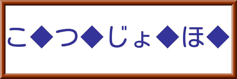 文字入れクイズ【上級】
