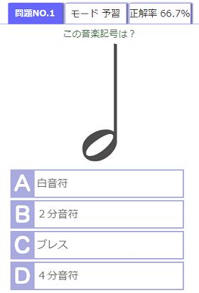 音楽記号検定
